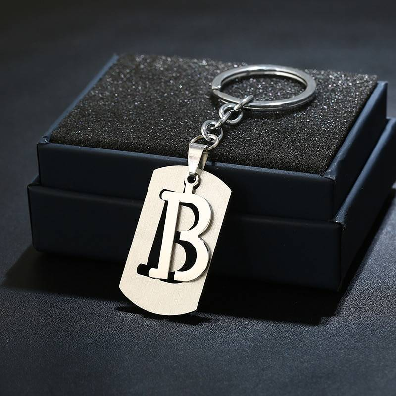 A-Z Letters Keychain