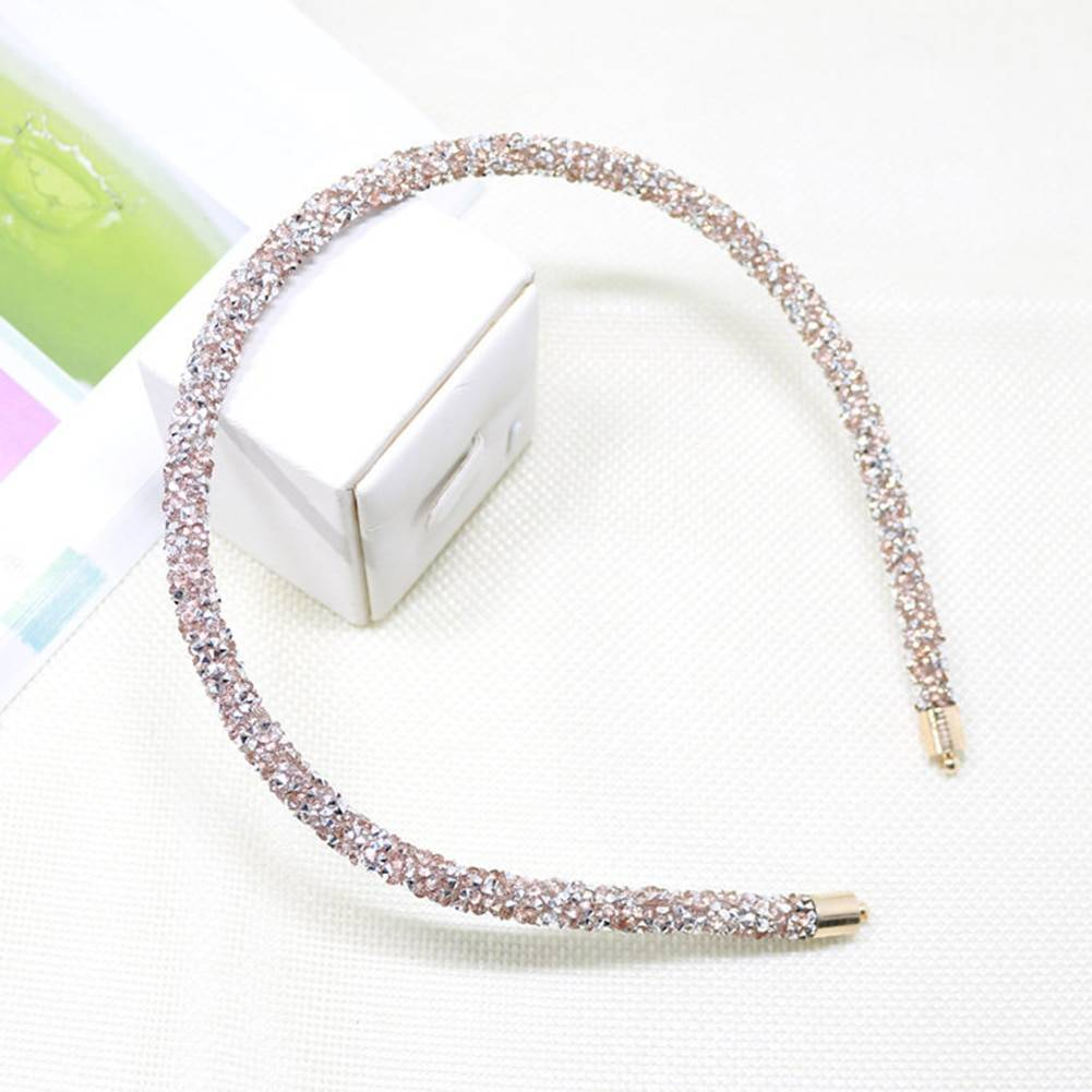 Crystal Beaded Hair Band Girl Women